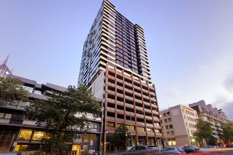 Second view of Homely apartment listing, 2214/155 FRANKLIN STREET, Melbourne VIC 3000