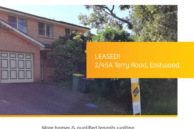 2/45a Terry Road, Eastwood NSW 2122