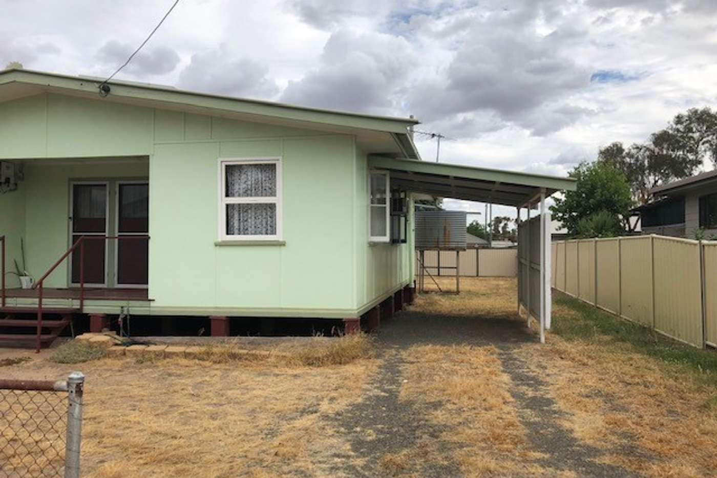 Main view of Homely unit listing, Flat 2/10 Hasted Street, Roma QLD 4455