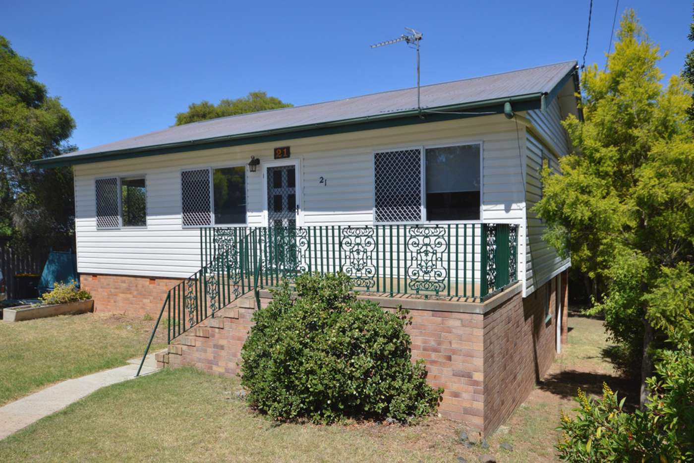Main view of Homely house listing, 21 Gillam Street, Warwick QLD 4370