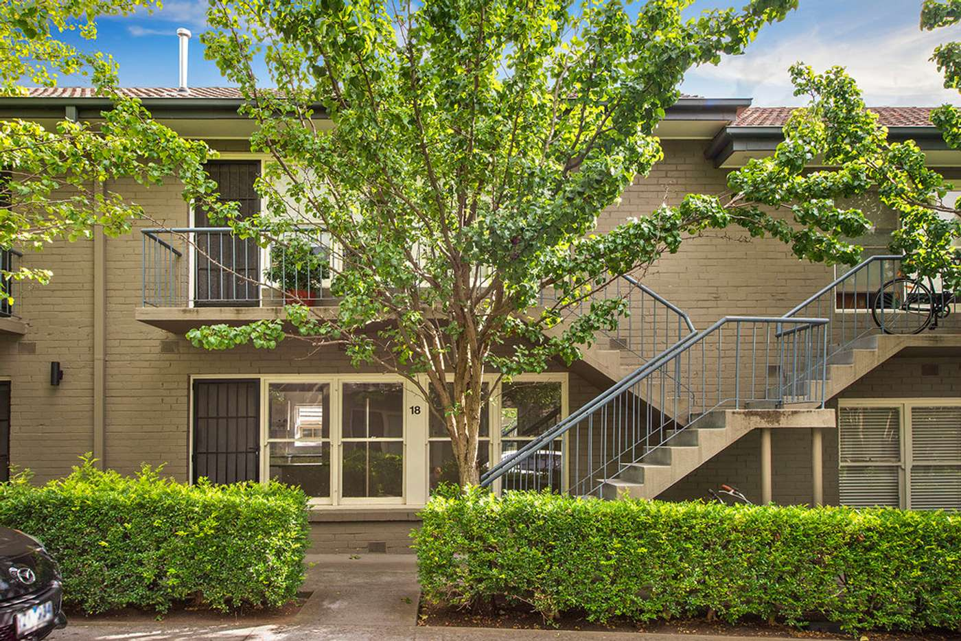 Main view of Homely apartment listing, 18/3 Kooyongkoot Road, Hawthorn VIC 3122