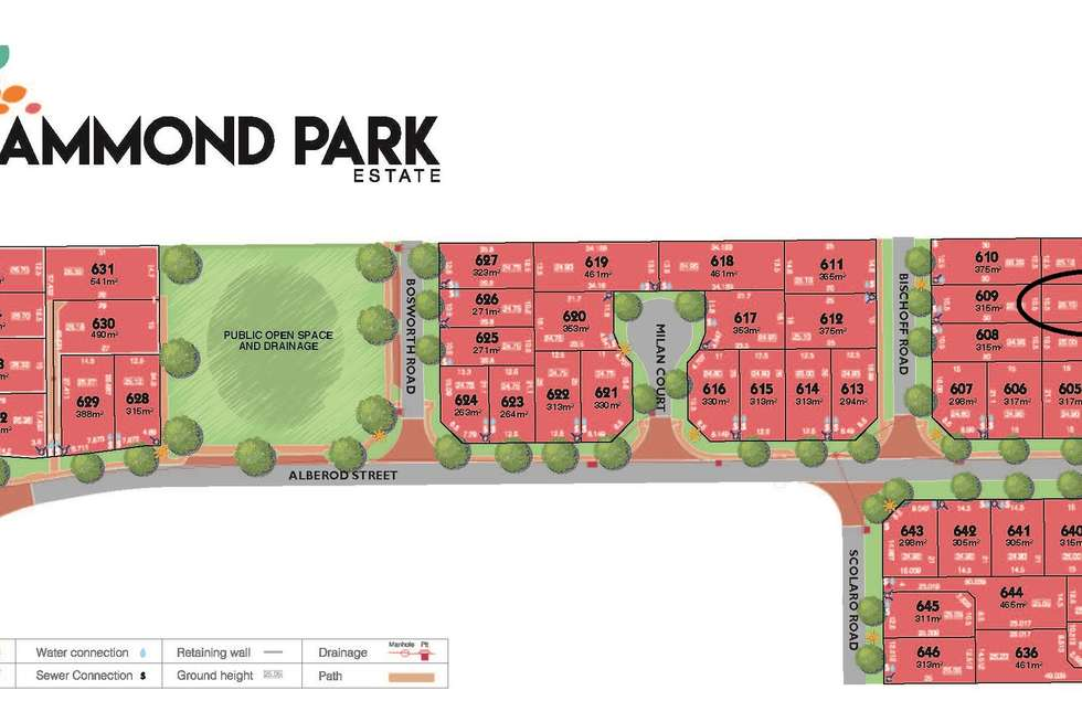 Second view of Homely residentialLand listing, Lot 602 Barfield Rd, Hammond Park WA 6164