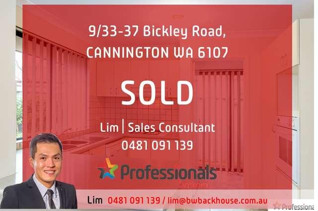 9/33-37 Bickley Road, Cannington WA 6107