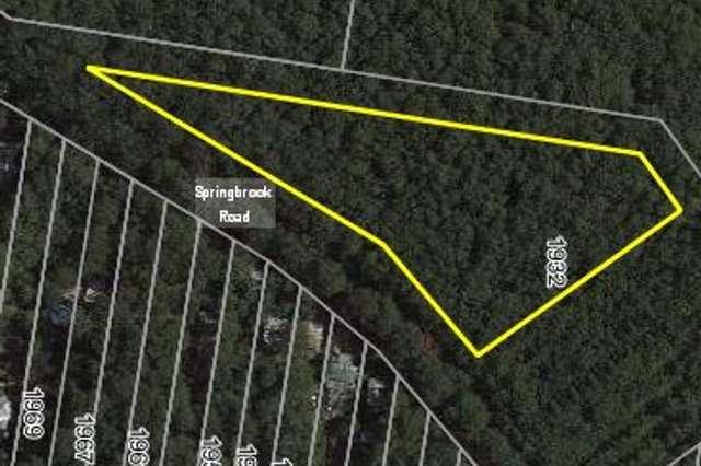 Lot 13 1932 Springbrook Road, Springbrook QLD 4213