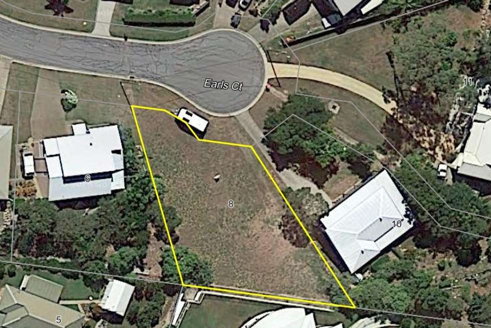 Second view of Homely residentialLand listing, 8 Earls Court, Telina QLD 4680
