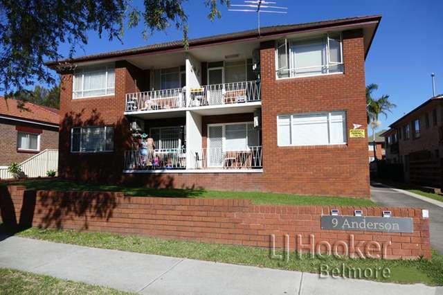 6/9 Anderson Street, Belmore NSW 2192