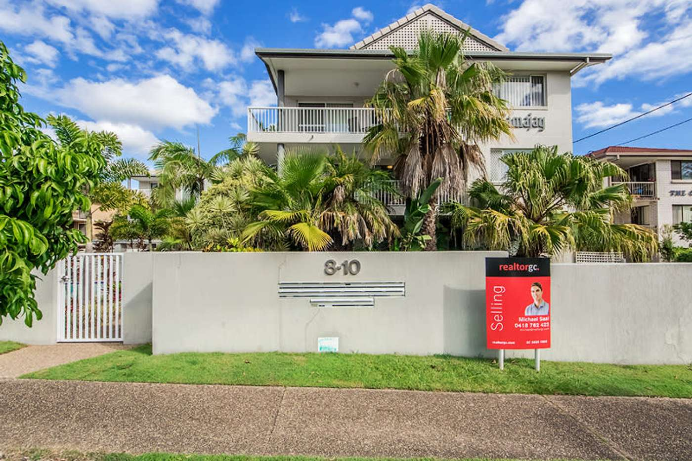 Main view of Homely unit listing, 10/8-10 Rosewood Avenue, Broadbeach QLD 4218