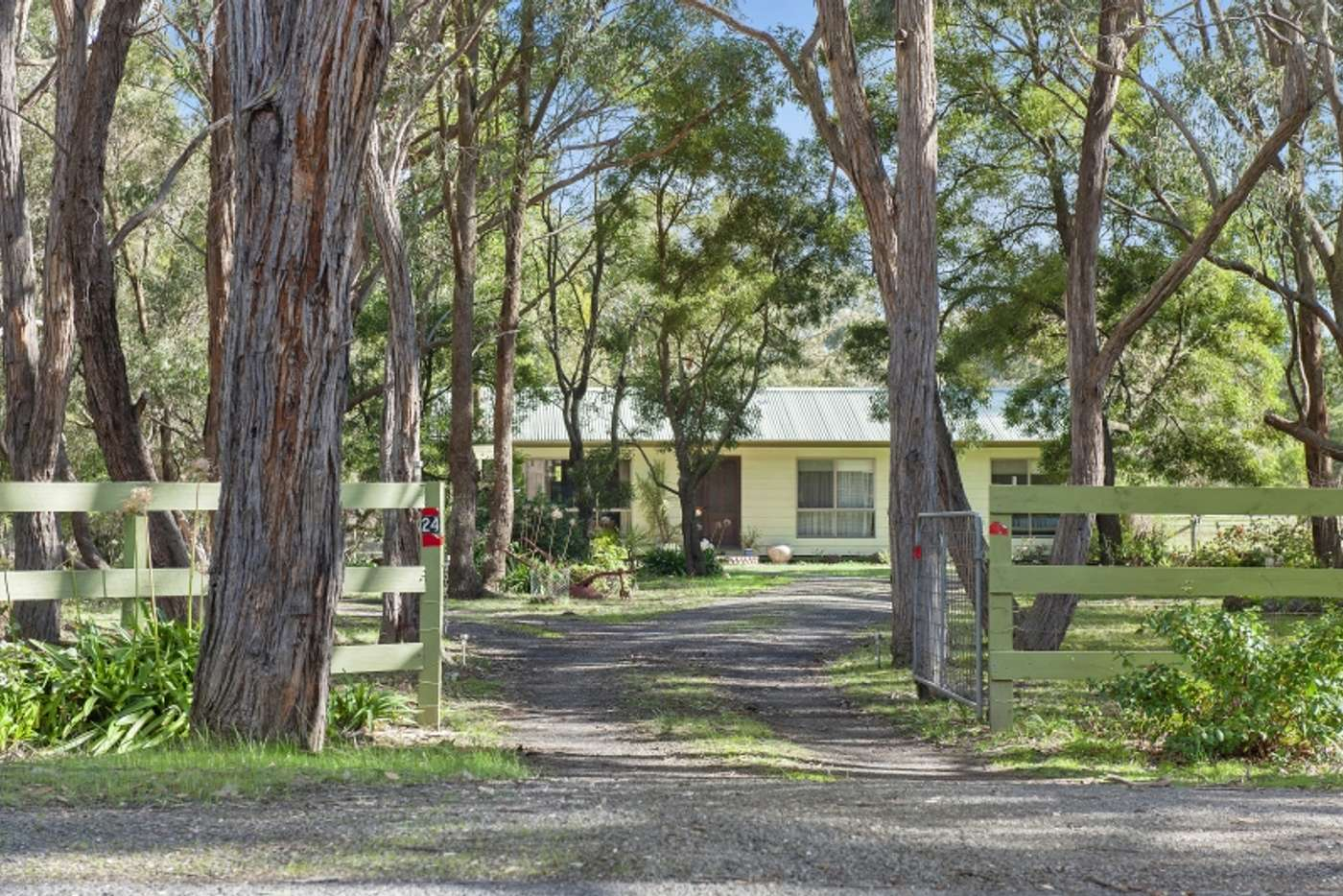 Main view of Homely house listing, 24 Grevillea Drive, Enfield VIC 3352