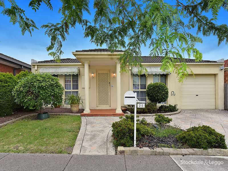 Main view of Homely house listing, 25 Thompson Crescent, Roxburgh Park, VIC 3064