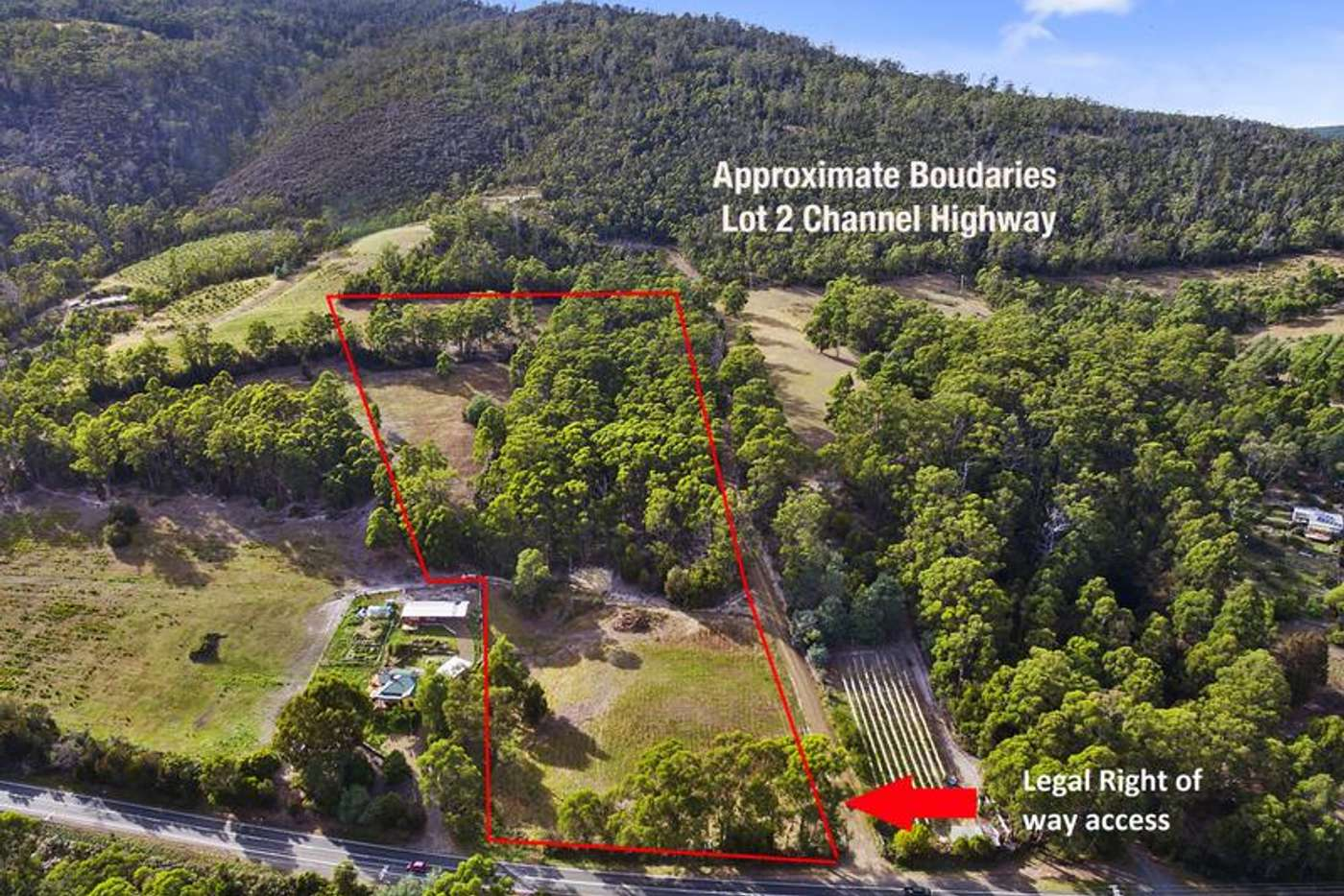 Main view of Homely residentialLand listing, Lot 2 Channel Highway, Huonville TAS 7109