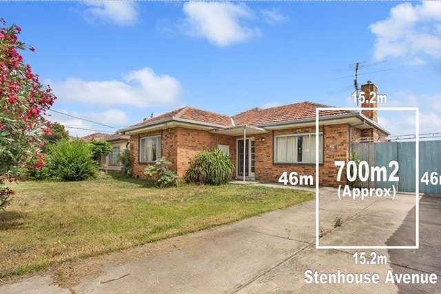 46 Stenhouse Avenue, Brooklyn VIC 3012