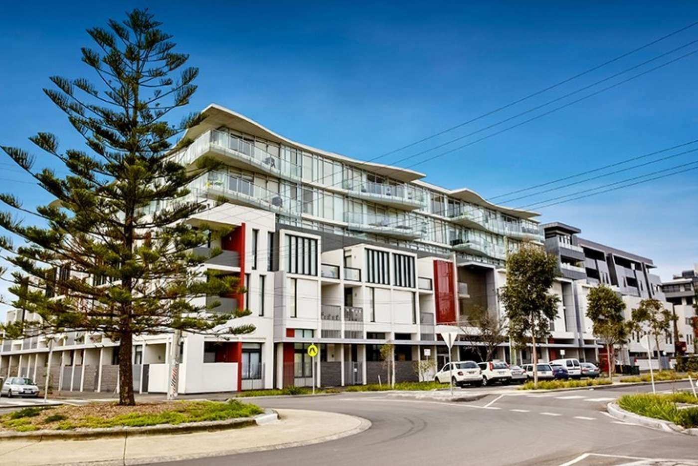 Main view of Homely apartment listing, 401/232-242 Rouse Street, Port Melbourne VIC 3207