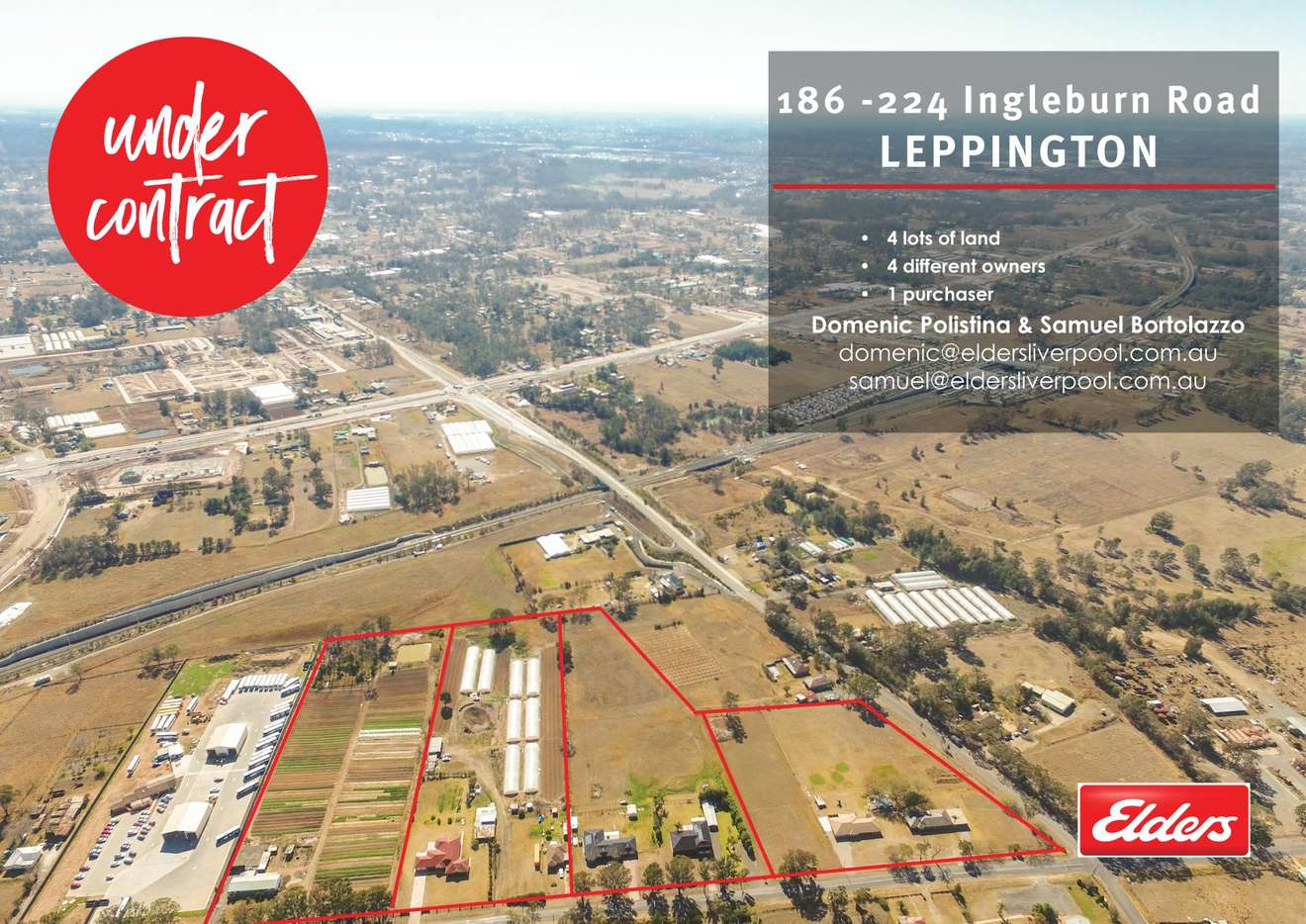 Main view of Homely rural listing, 186-224 Ingleburn Road, Leppington, NSW 2179
