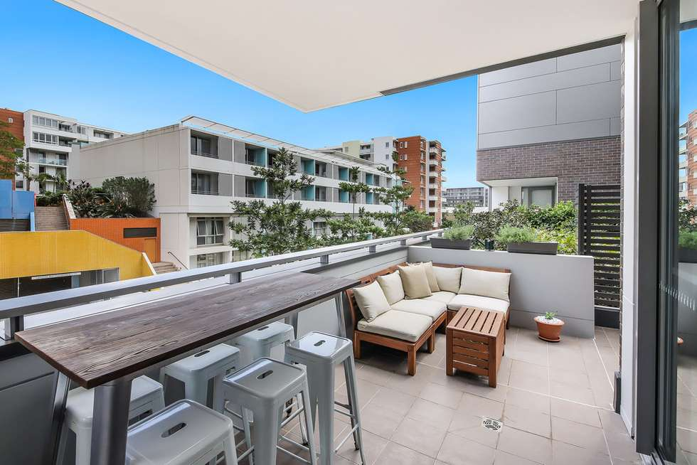 Second view of Homely apartment listing, 202/9 Baywater Drive, Wentworth Point NSW 2127