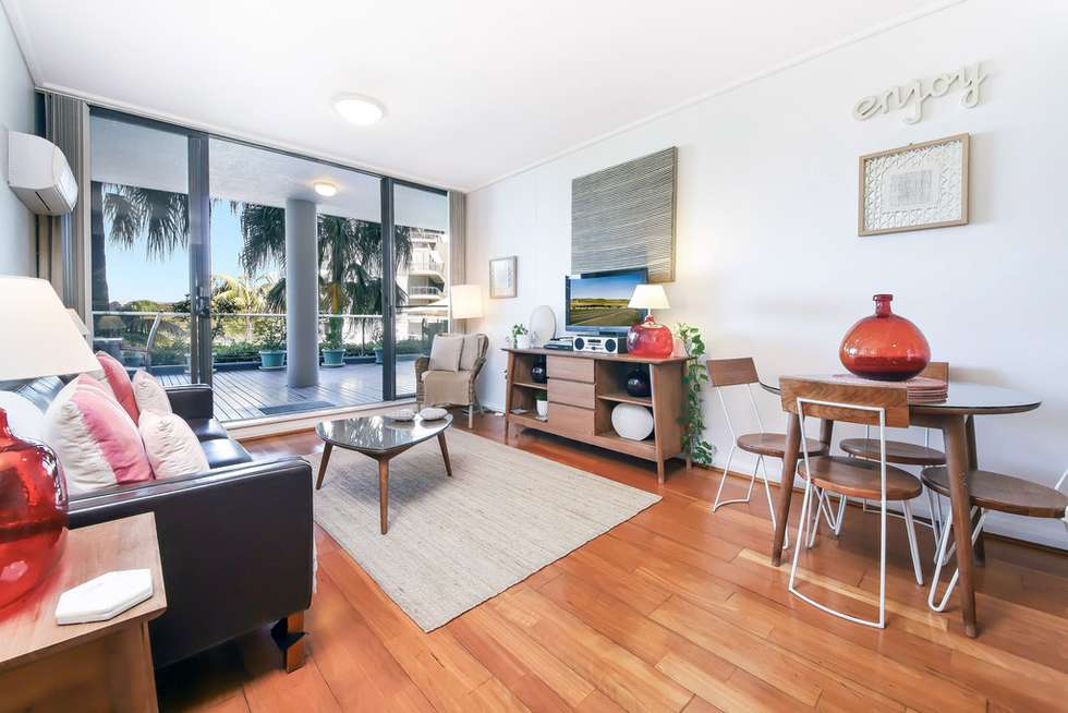 Second view of Homely apartment listing, 1/27 Bennelong Parkway, Wentworth Point NSW 2127