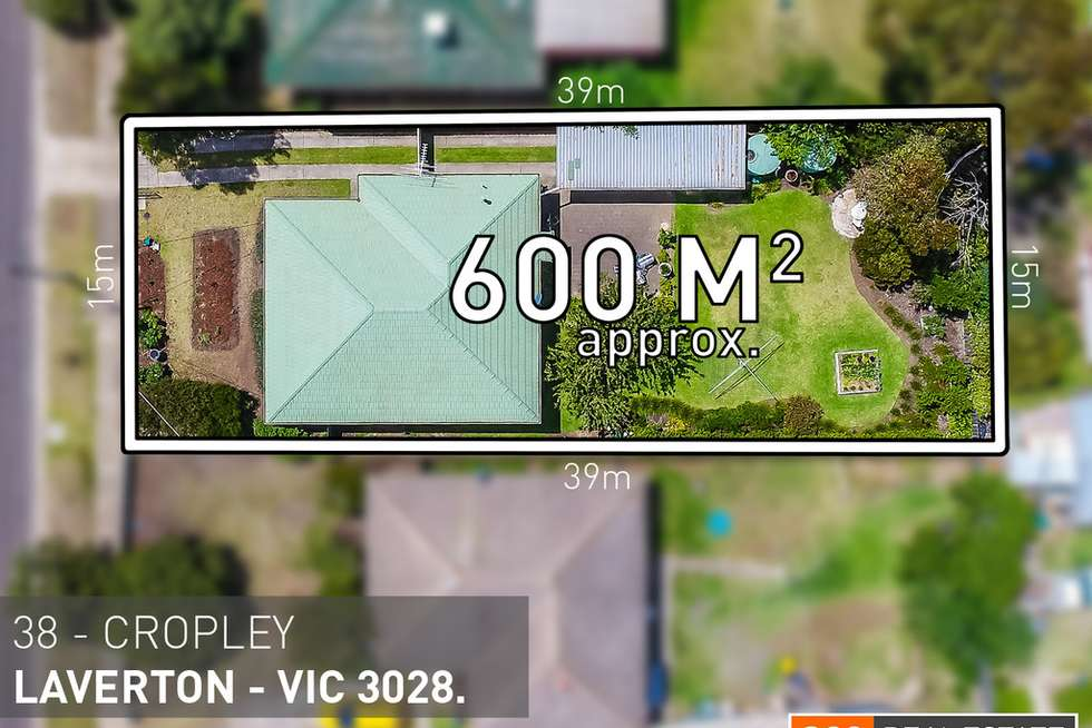 Second view of Homely house listing, 38 Cropley Crescent, Laverton VIC 3028