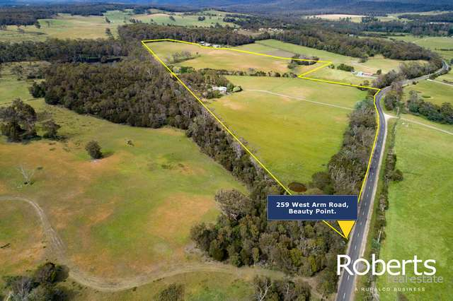 259 West Arm Road, Beauty Point TAS 7270