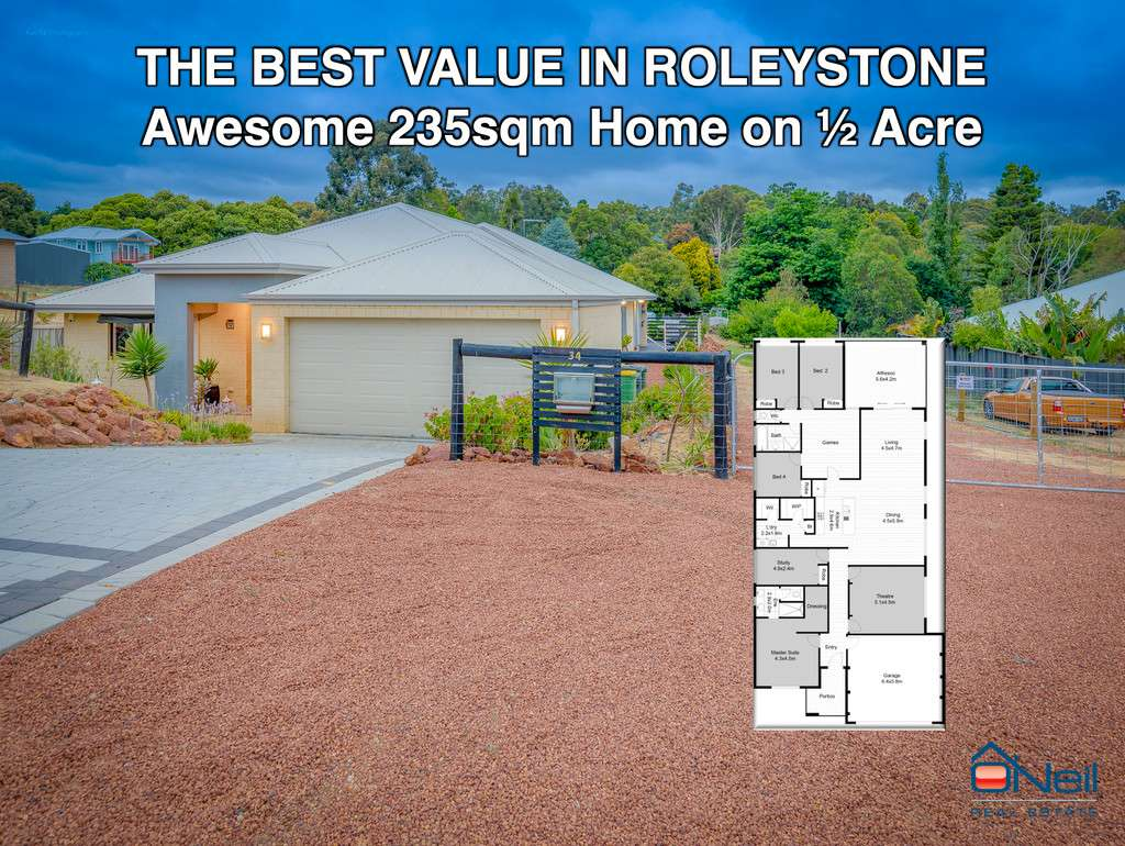 Main view of Homely house listing, 34 Maclean Street, Roleystone, WA 6111