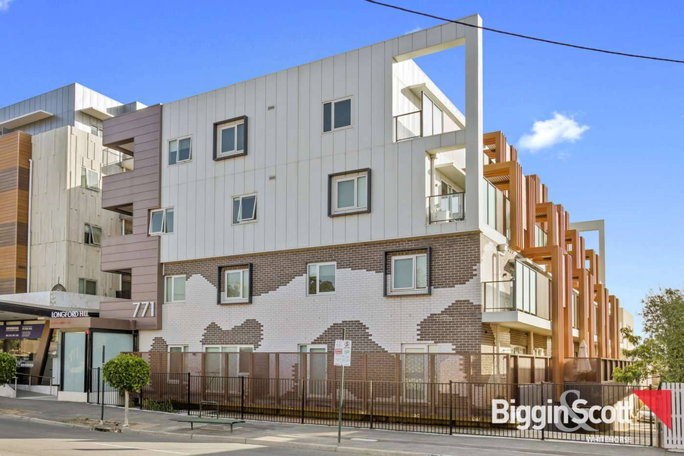 Main view of Homely apartment listing, B207/771 Station Street, Box Hill North VIC 3129