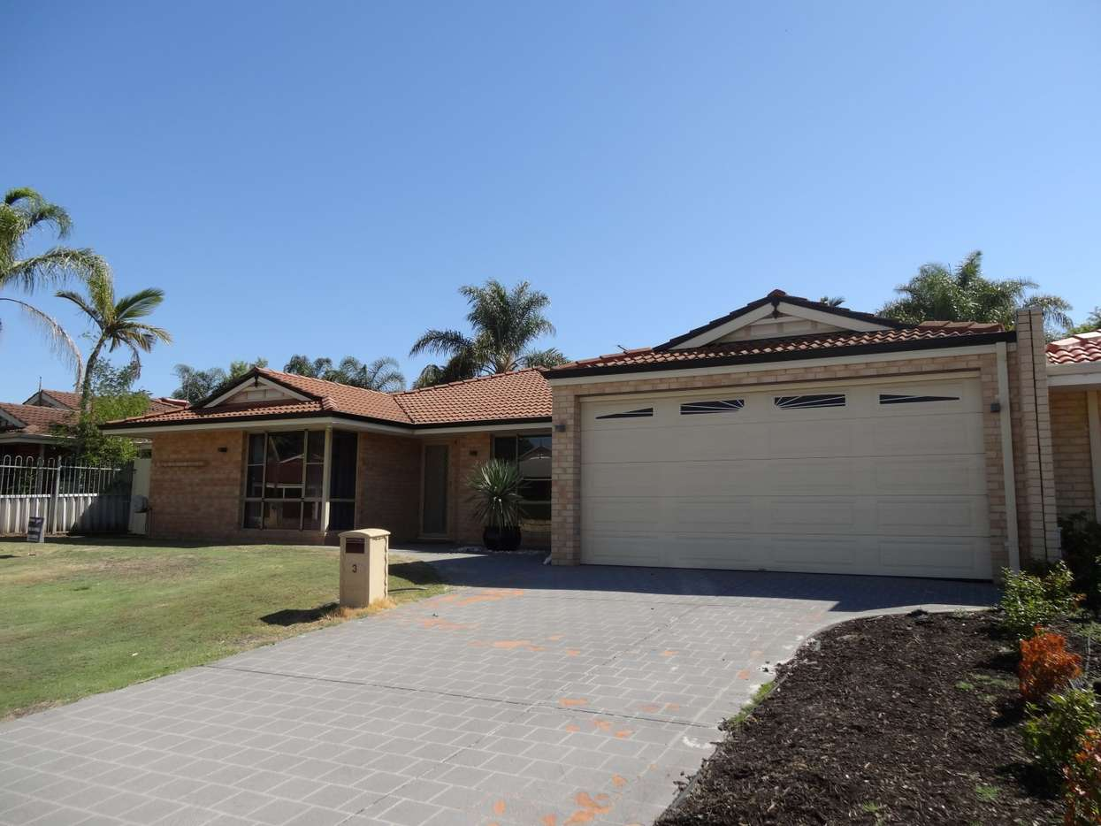 Main view of Homely house listing, 3 Ballard Mews, Success, WA 6164