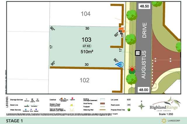 Lot 103 Augustus Drive, Jane Brook WA 6056