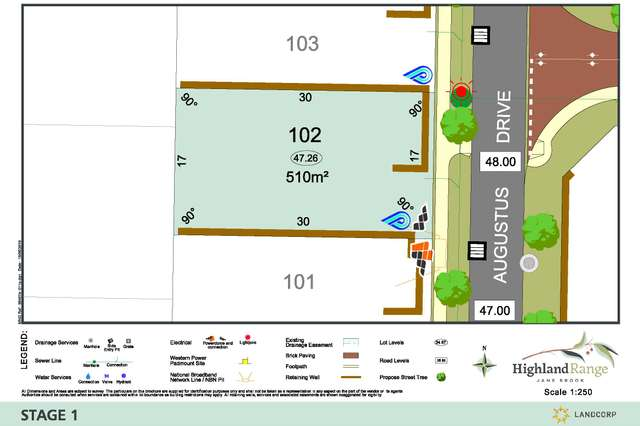 Lot 102 Augustus Drive, Jane Brook WA 6056