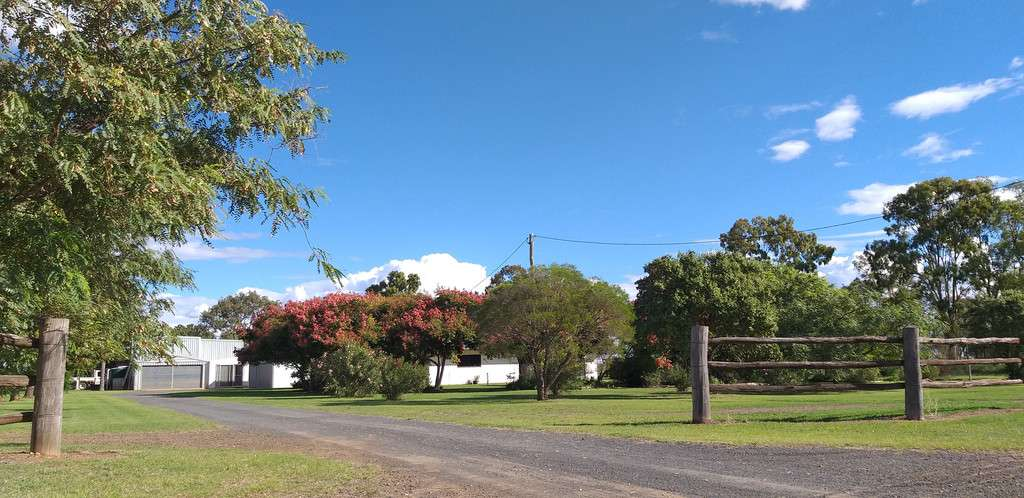 Main view of Homely  listing, 1.33 HECTARES 4 BEDROOM HOUSE ON ACREAGE, Brymaroo, QLD 4403