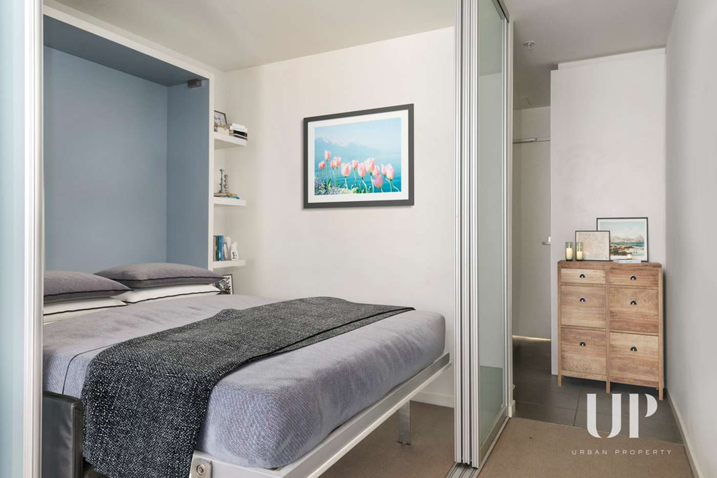 Main view of Homely apartment listing, 1702/243 Franklin Street, Melbourne VIC 3000