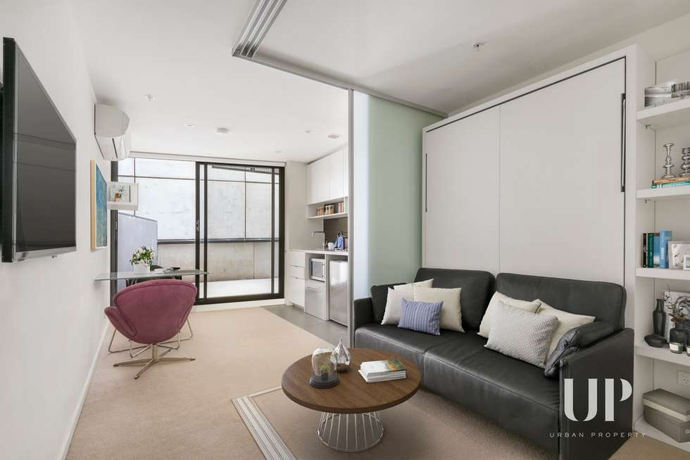 Second view of Homely apartment listing, 1702/243 Franklin Street, Melbourne VIC 3000