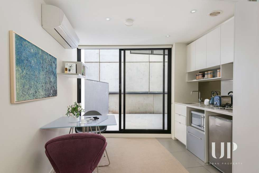 Third view of Homely apartment listing, 1702/243 Franklin Street, Melbourne VIC 3000