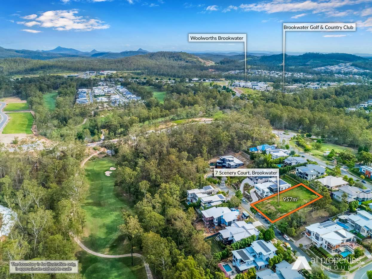 Main view of Homely  listing, 7 Scenery Court, Brookwater, QLD 4300