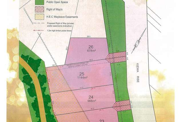Lot 23 Stage 3 Parkwood Gardens, Lenah Valley TAS 7008