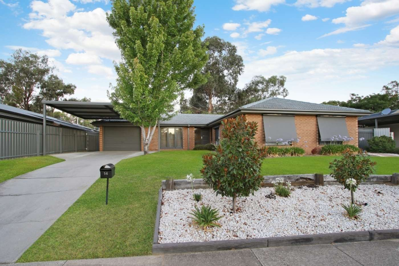 Main view of Homely house listing, 14 Sans Souci Drive, Wodonga VIC 3690