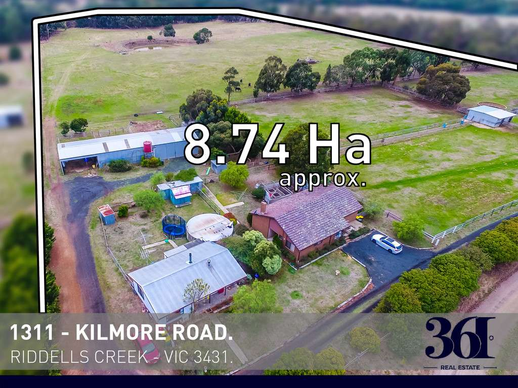Main view of Homely  listing, 1311 Kilmore Road, Riddells Creek, VIC 3431