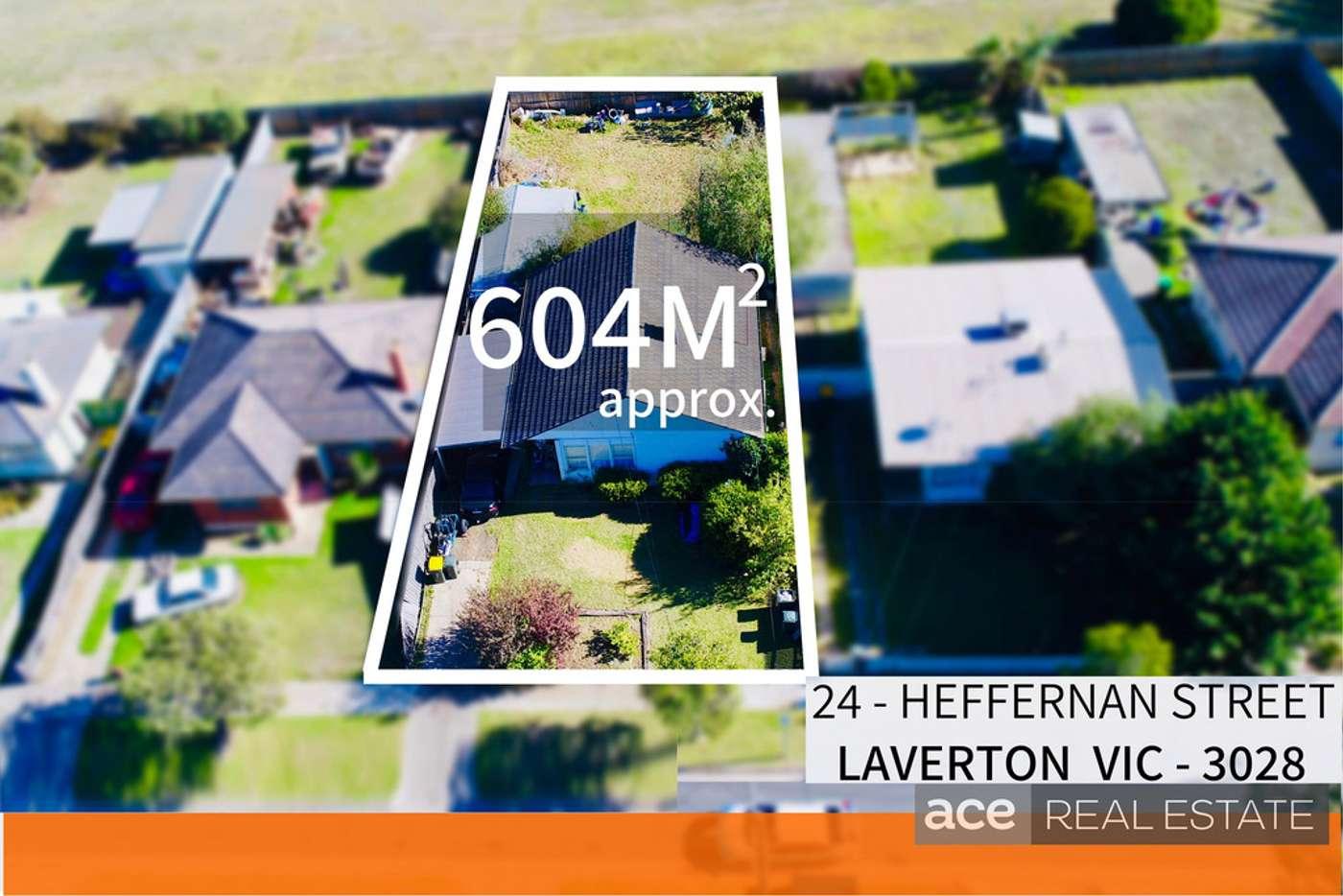 Main view of Homely house listing, 24 Heffernan Street, Laverton VIC 3028