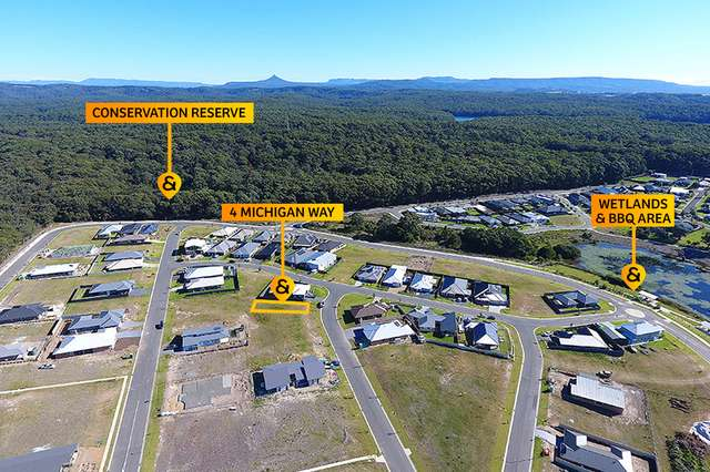 4 (Lot 404) Michigan Way, Burrill Lake NSW 2539