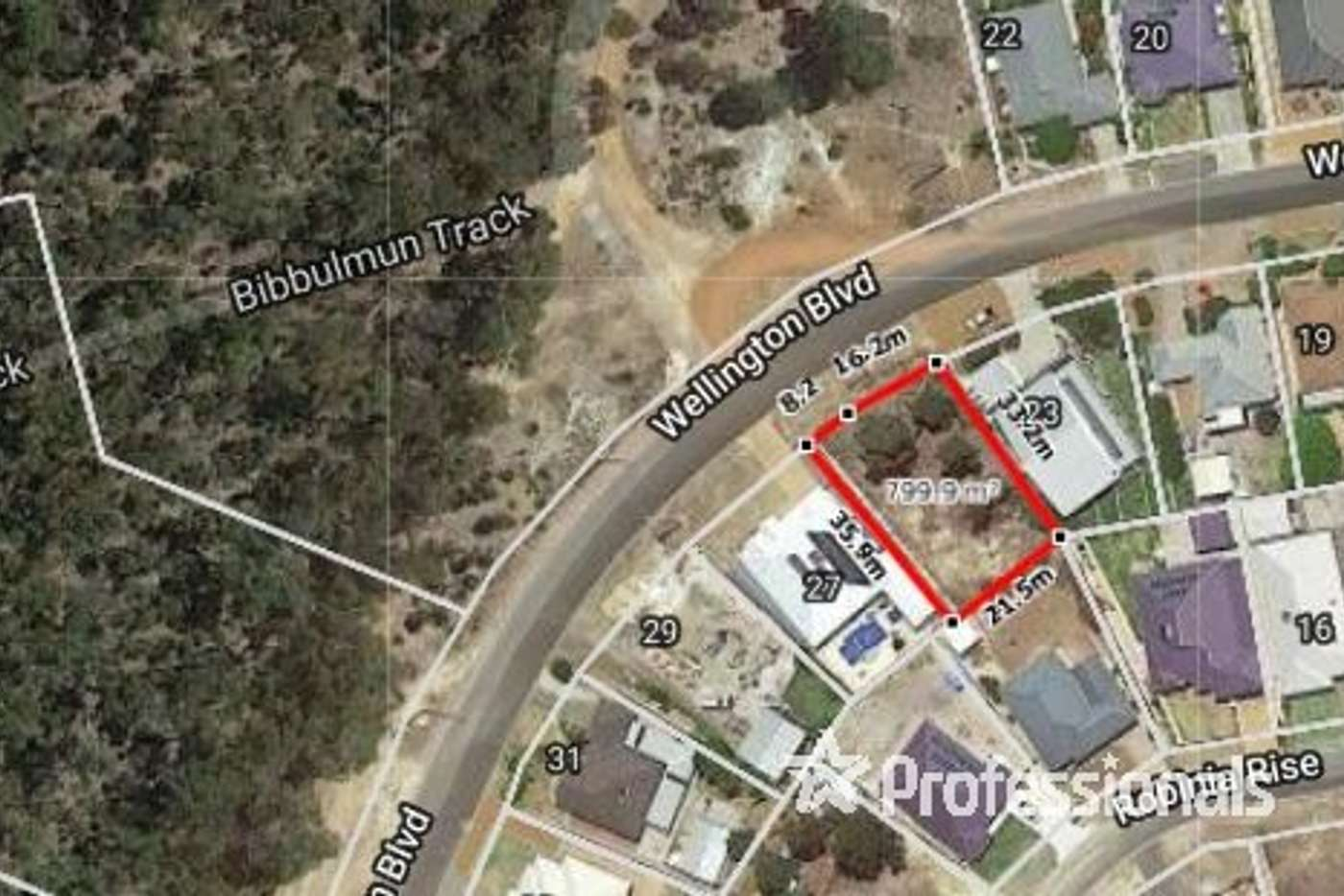 Main view of Homely residentialLand listing, 25 Wellington Boulevard, Collie WA 6225