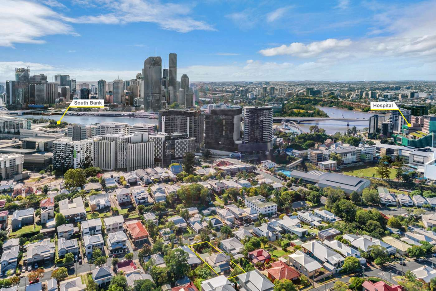 Main view of Homely house listing, 21 Brook Street, South Brisbane QLD 4101