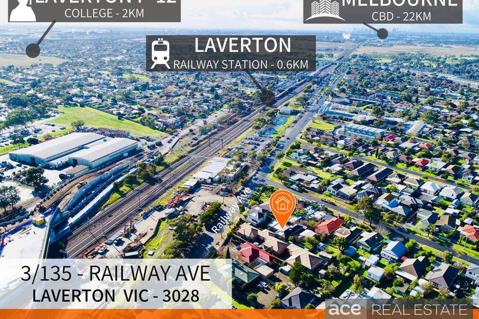 Second view of Homely house listing, 3/135 Railway Avenue, Laverton VIC 3028