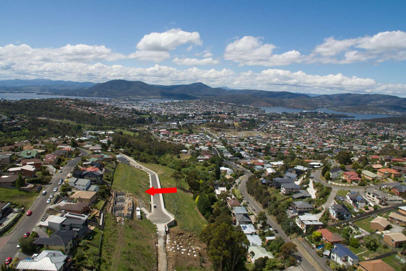 Main view of Homely residentialLand listing, Lot 10, 77 Athleen Avenue, Lenah Valley TAS 7008