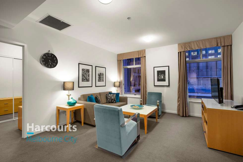 Second view of Homely apartment listing, 807/394 Collins Street, Melbourne VIC 3000