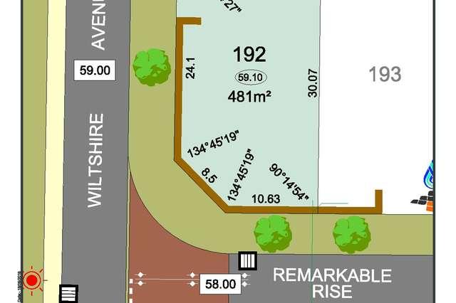 Lot 192 Corner of Remarkable Rise & Wiltshire Avenue, Jane Brook WA 6056