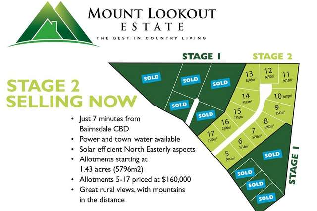Lot 10/90 Mount Lookout Rd, Wy Yung VIC 3875