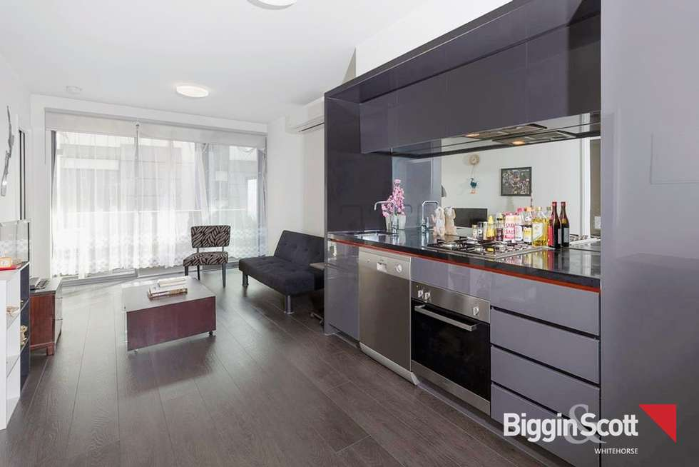 Fourth view of Homely apartment listing, 111/92 Cade Way, Parkville VIC 3052