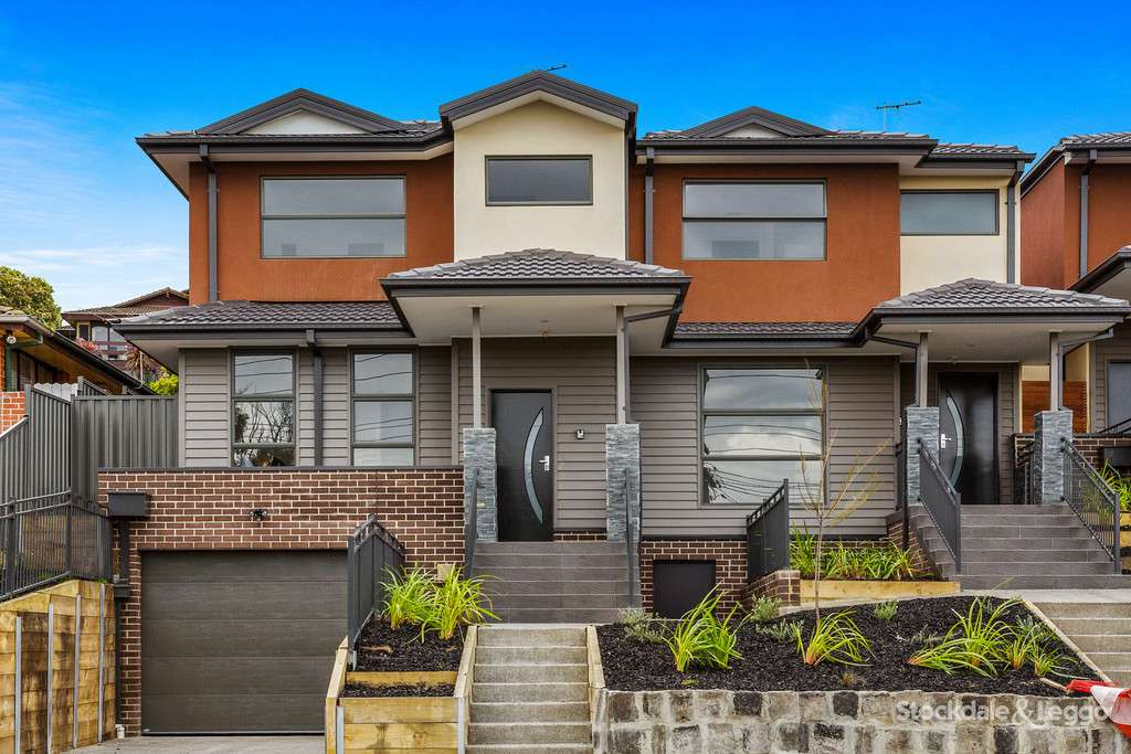 Main view of Homely townhouse listing, 1/66A Devereaux Street, Oak Park, VIC 3046