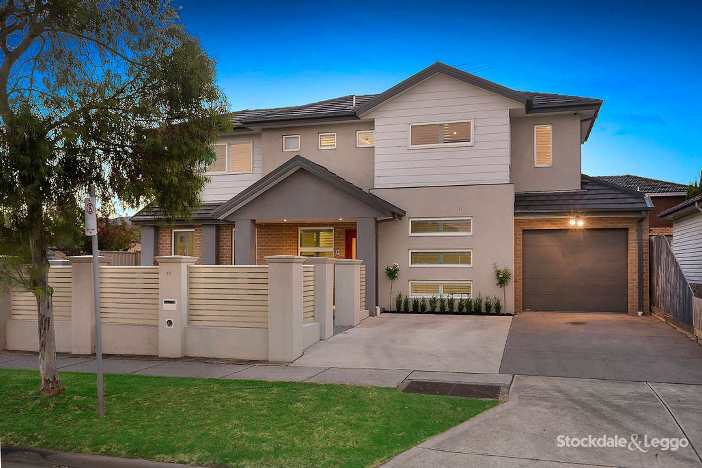 Main view of Homely townhouse listing, 77 West Street, Hadfield VIC 3046