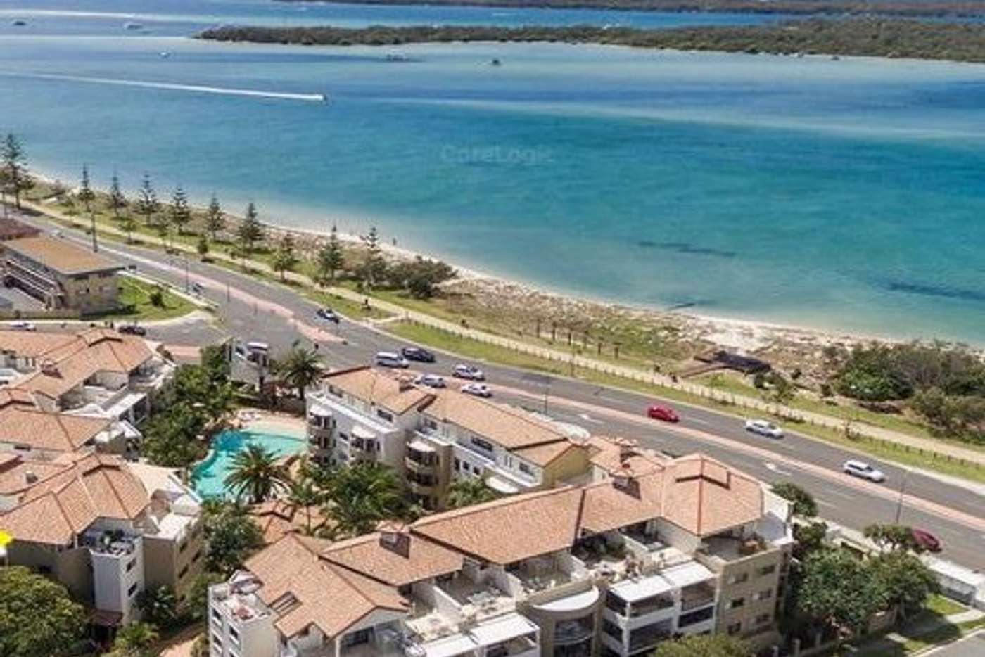 Main view of Homely unit listing, 318/392-398 Marine Parade, Labrador QLD 4215