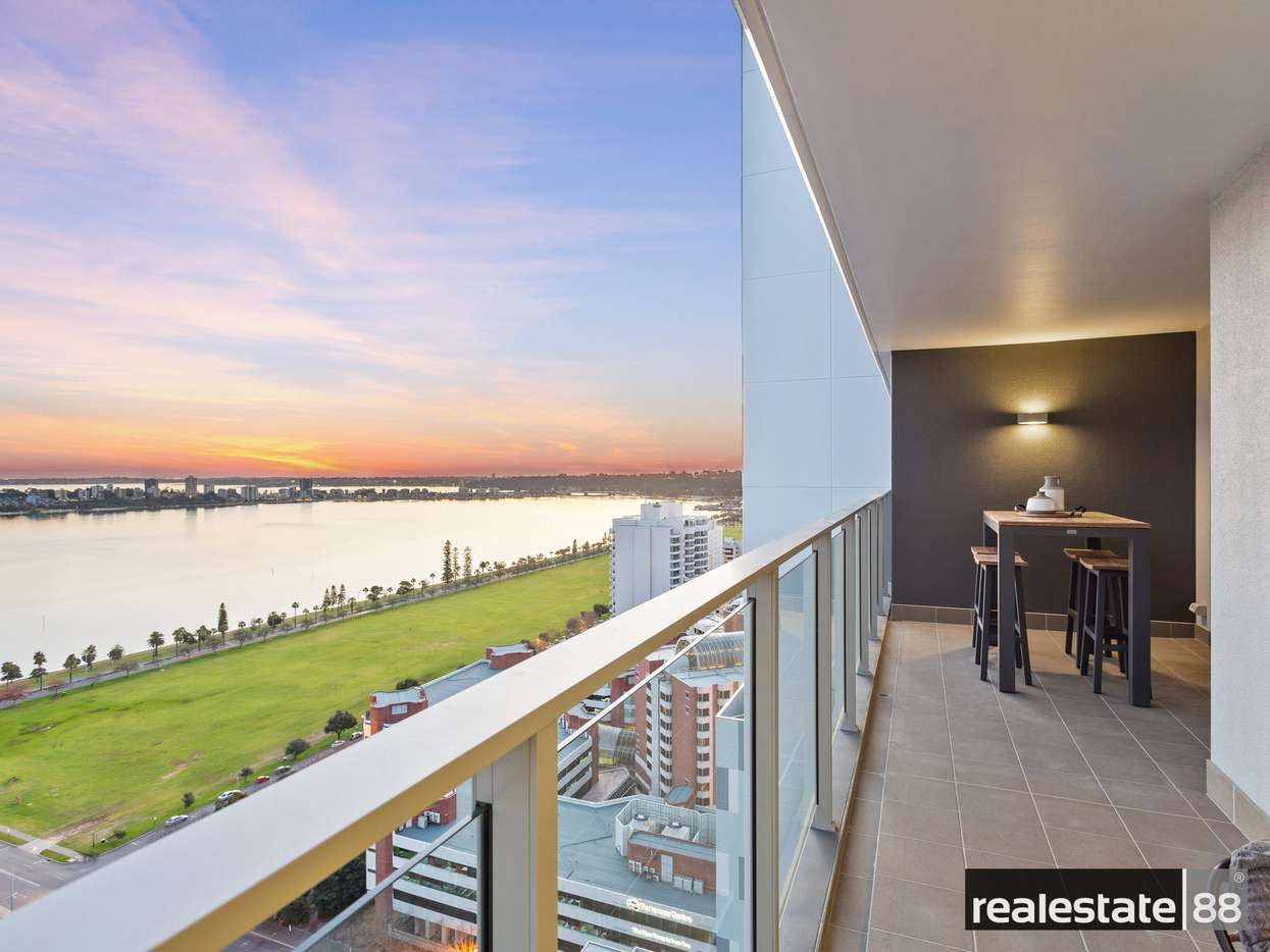 Main view of Homely apartment listing, 2408/63 Adelaide Terrace, East Perth, WA 6004