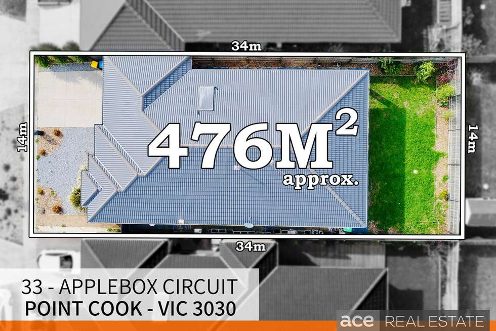 Second view of Homely house listing, 33 Applebox Circuit, Point Cook VIC 3030