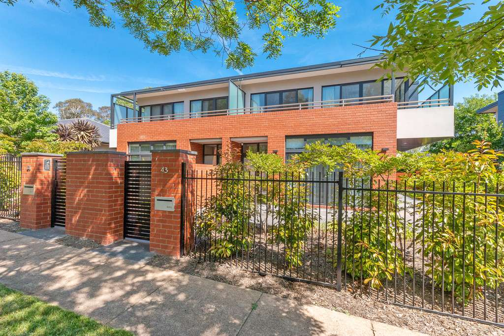 Main view of Homely townhouse listing, 43 Loftus Street, Yarralumla, ACT 2600